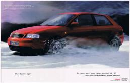 Audi A3 Anzeige Saatchi & Saatchi Freier Texter