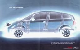Audi A2 Anzeige Saatchi & Saatchi Freier Texter