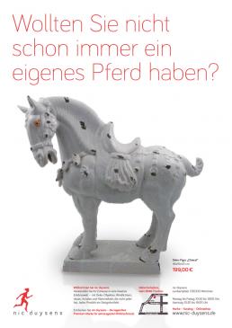 Nic Duysens Anzeige 'Pferd' - Freier Texter