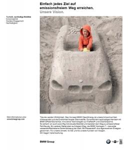 Audi Service Printkampagne - Anzeige 'Nachhaltige Mobilität' - Freier Texter