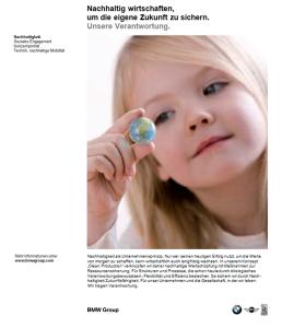 Audi Service Printkampagne - Anzeige 'Nachhaltigkeit' - Freier Texter