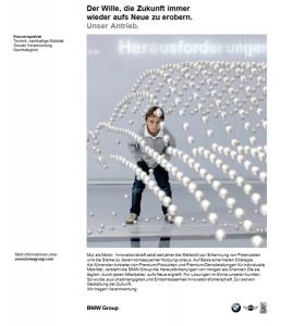 Audi Service Printkampagne - Anzeige 'Konzernporträt' - Freier Texter