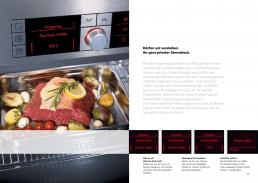 Bosch Broschüre Einbaugeräte - Freier Texter