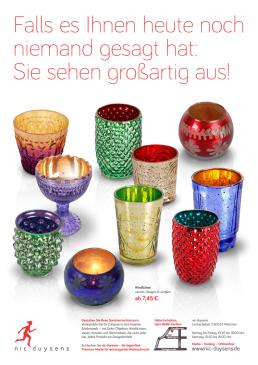 Nic Duysens Anzeige 'Teelichter' - Freier Texter